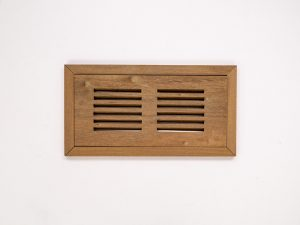 Pre-Varnished IPE Flush Mount Vent