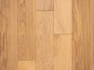 Natural select grade white oak floor, oiled Abuja color