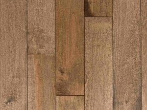 Natural select grade maple floor, oiled Ardoise color