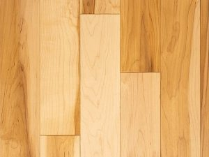Natural select grade maple flooring, oiled natural color