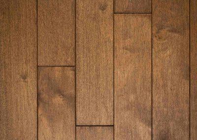 Natural select grade white oak floor, oiled Terre color