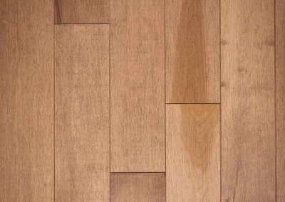 Natural select grade maple floor, varnished Aube color