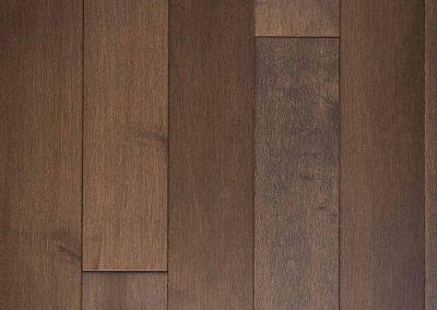 Natural select grade maple floor, varnished Crépuscule color