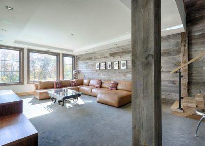 Grey Barn Wood Wallcovering