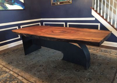 Table Bristol en parota