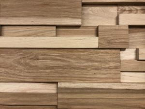 Custom 3D Wood Wallcovering