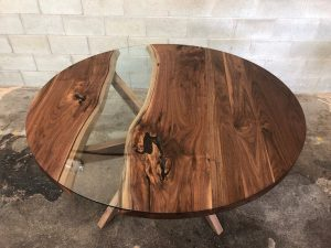 Durham Black Walnut Dining Room Table