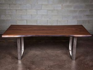 York Black Walnut Dining Room Table