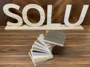 Boîte d'échantillons de plancher