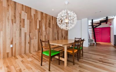 Connaissez-vous la tendance du bois franc mural ?