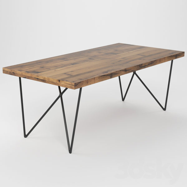 Table à diner reclaimed