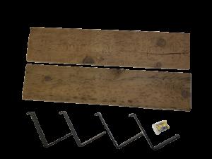 Tablette de bois de grange- 3